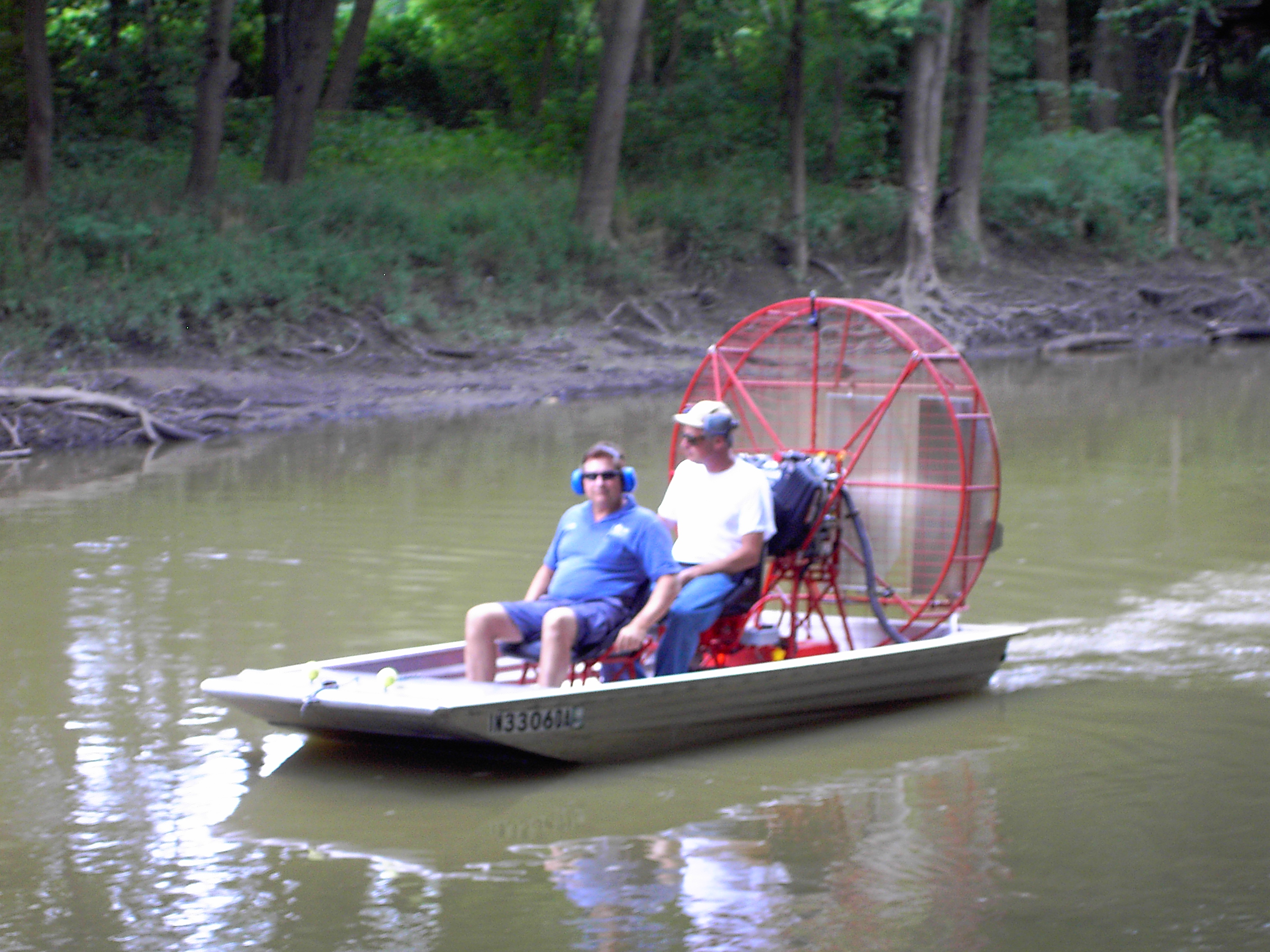 Wooden Mini Airboat Plans Free PDF Plans