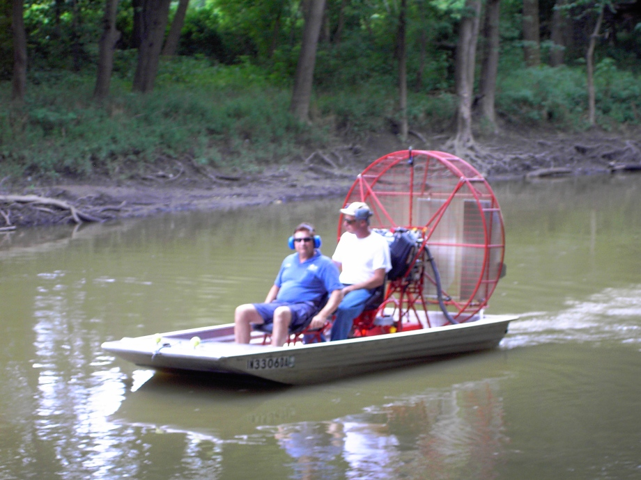 This Free airboat plans ~ J. Bome