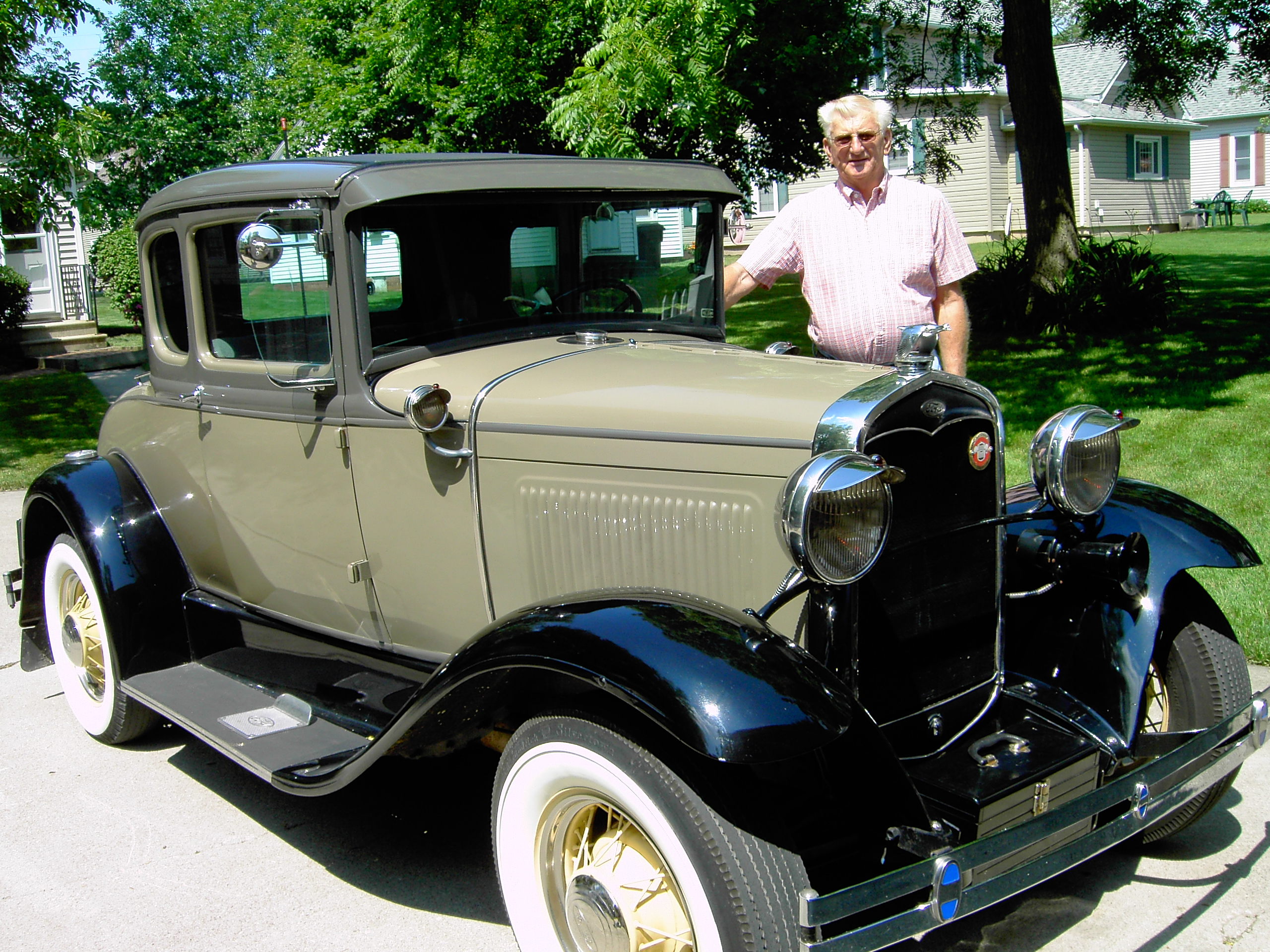 Lynn Yager and his 1931 Model