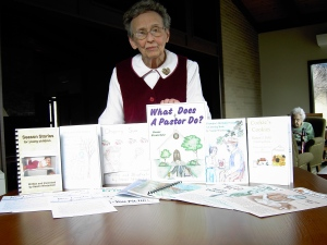 Naomi Wiederkehr  has written books and articles for mostly preschoolers.
