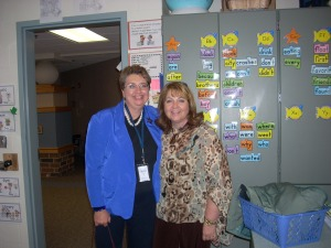 My lovely friend Lyn Rodgers arranged my visit  at Lancaster Elementary School. Thanks, Lyn!