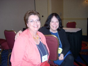 Jane Yolen and me at SCBWI conference in Ft Wayne.