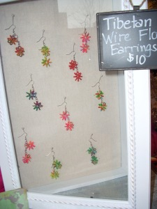 Earrings from Tibet available at Creative Women of the World shop.