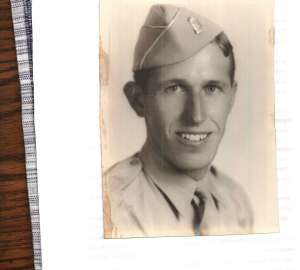World War II Tech Sergeant Richard Beitler