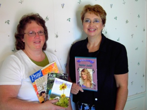 Rhonda Maller & I started the Bluffton Christian Writing Club in 2009.