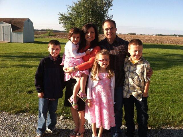 Ron garner and his family pastor at bethel church
