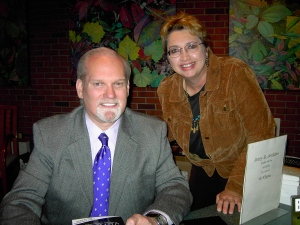 Jerry Jenkins, author of Left Behind books, was full of information about writing books.