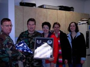 My wonderful husband John retired after 21 years of serving in the Air Force and Air National Guard. We're proud of him!