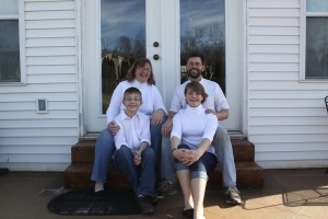 The O'Neal family has been a part of Calvary Lutheran Church since 2010.