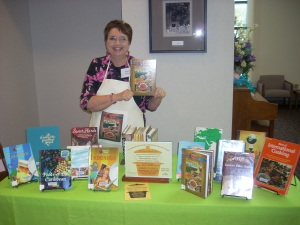 My 2 cookbooks are part of the cookbook section of the Huntington City-Township Public Library collection.