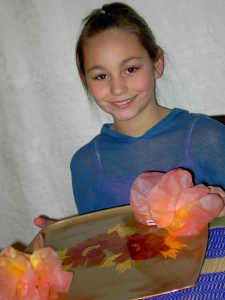 Coffee filter flowers are a fun and quick gift to make for Mothers Day!