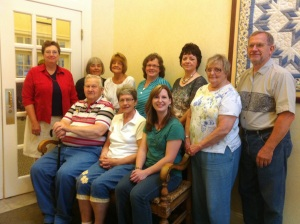Bluffton Christian Writing Club members meet monthly.