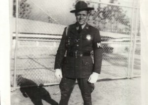 George Buhler from New Jersey served as Army military police during WWII.