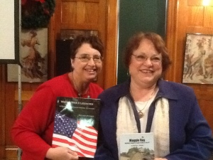 Marsha Wright wrote book about her mother, Margaret Ringenberg, who is profiled in my WWII book.