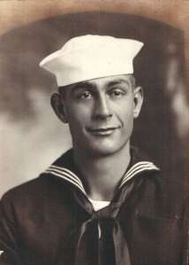 Seaman 2nd Class Richard Vanderwall served US Navy during WWII.