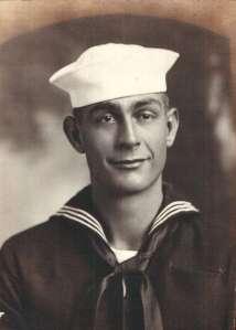 Seaman 2nd Class Richard Vanderwall served US Navy during WWII.