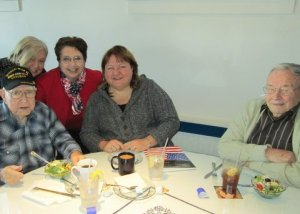 Lunch at Santorini Greek Restaurant with owner Jeanette Sawi was fun and delicious!