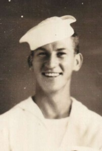 Seaman Richard Block served at Okinawa.