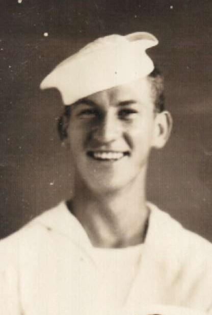 Seaman Richard Block served at Okinawa.