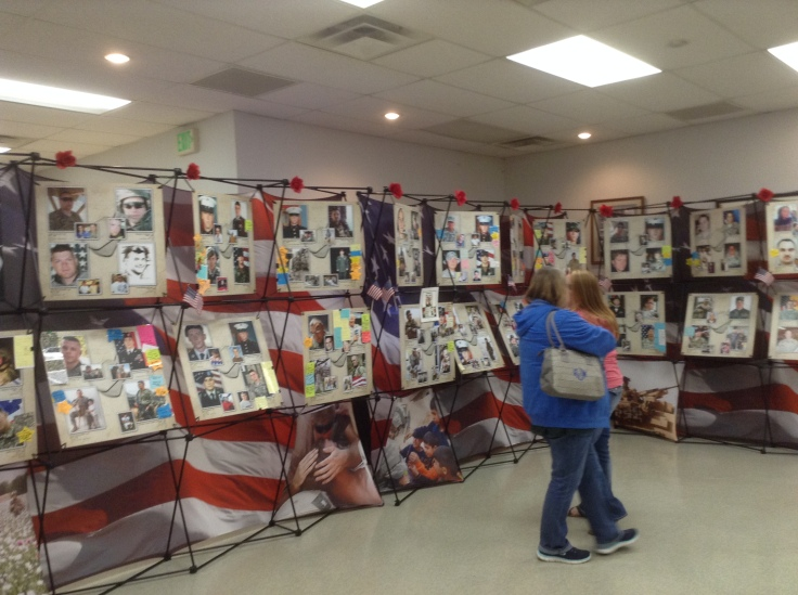 Amn 241 fallen heroes display