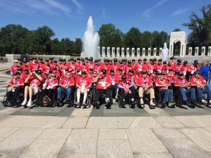 Cal group WWII memorial