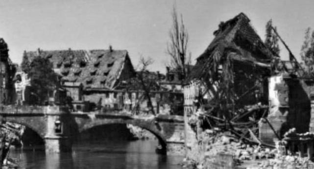 Rata-McComb bombed vill bridge
