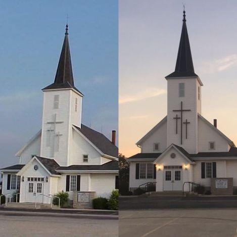 St Luke dk crosses