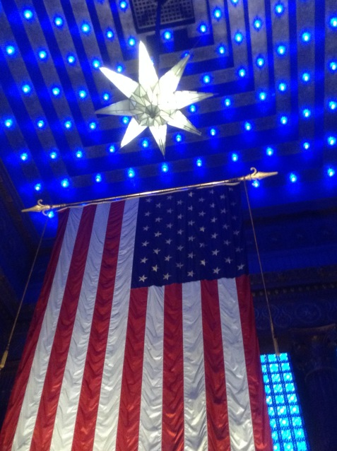 Blue stars Indy mil museum